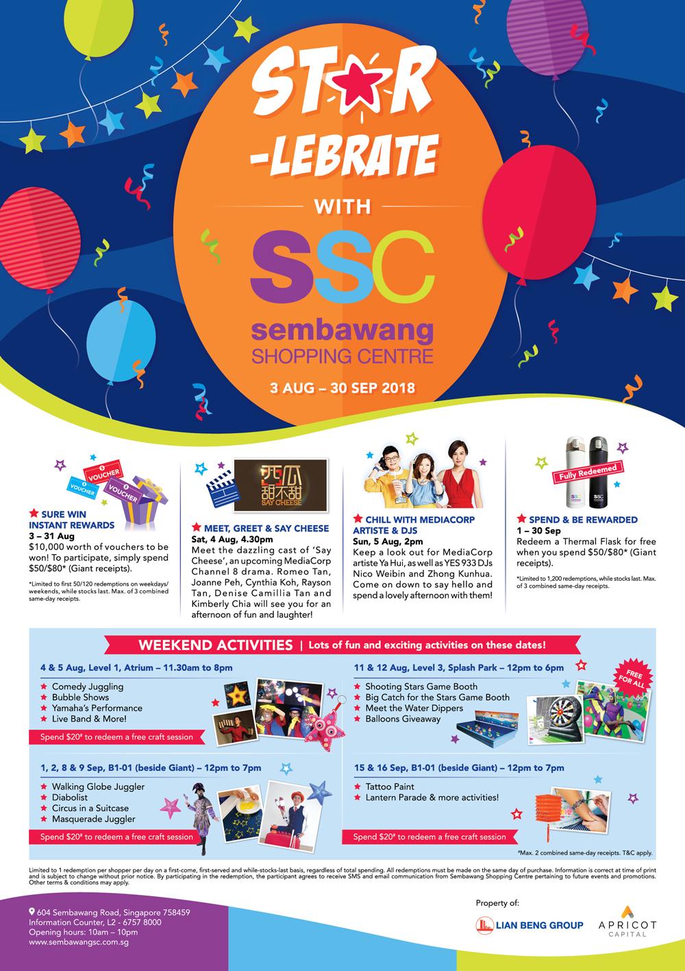 Star-lebrate – Sembawang Shopping Centre